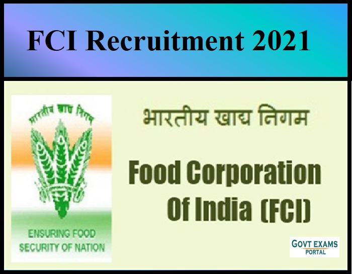 FCI AGM Technical Updated Syllabus For Year 2021